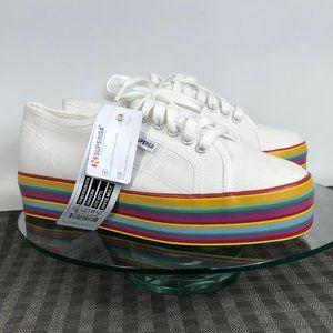 Superga 2790 COTW Platform Sneaker Rainbow